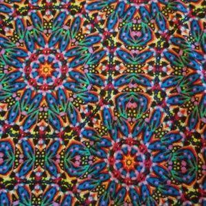 LuLaRoe TC Leggings - kaleidoscope pattern!